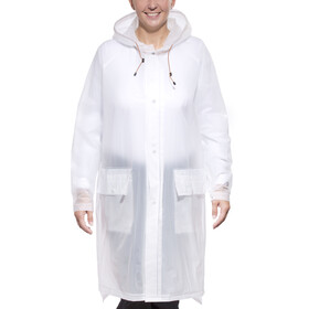 Didriksons 1913 Eva Coat Unisex transparent